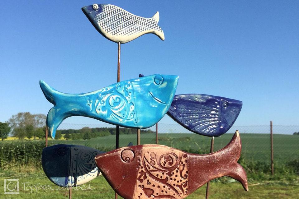 Ferienwohnung Dambeck Keramikfische