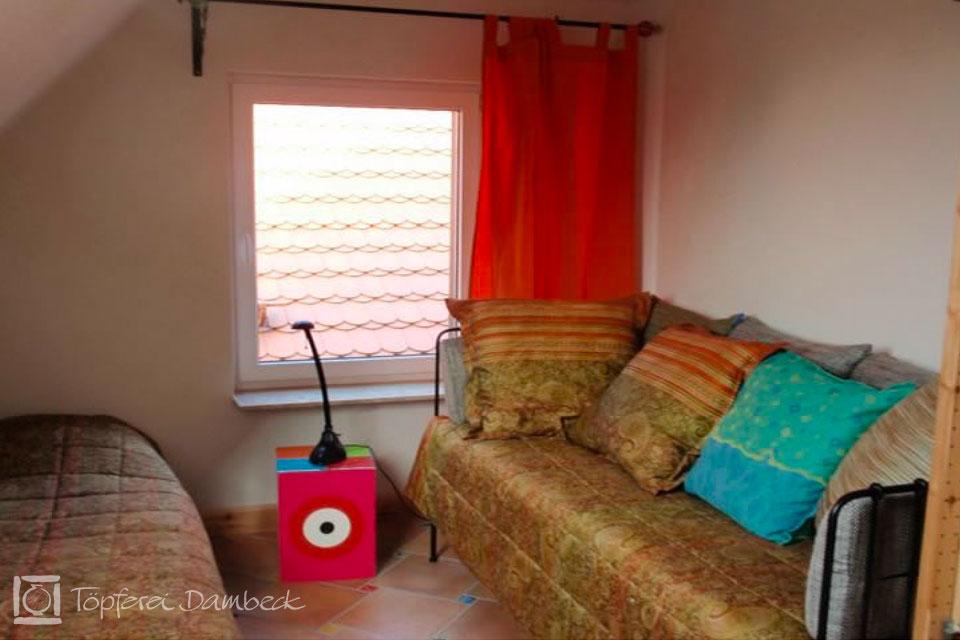 Ferienwohnung Dambeck Schlafzimmer