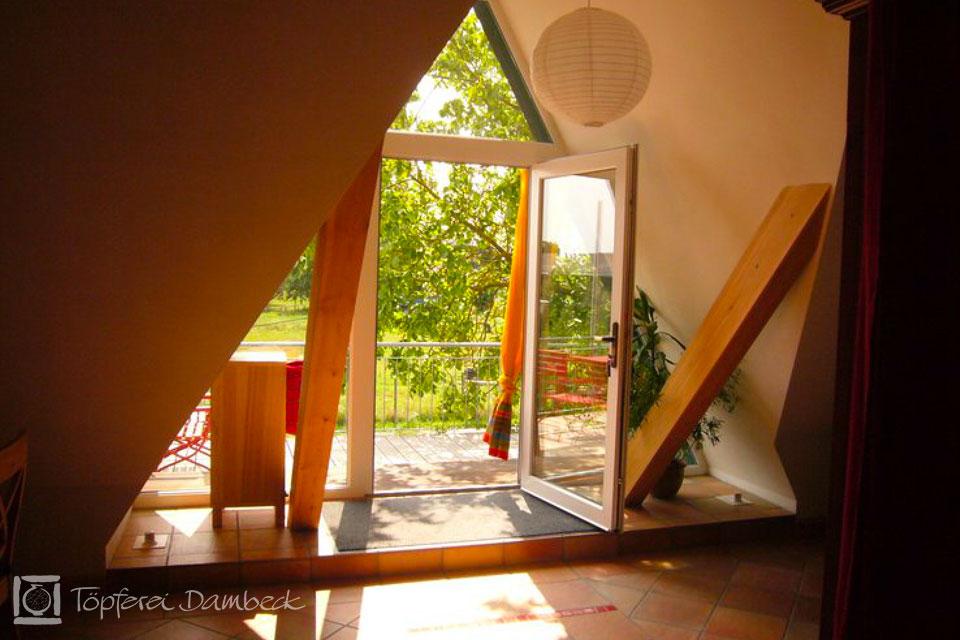 Ferienwohnung Dambeck Wohnzimmer