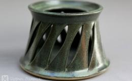 Töpferei Dambeck - Steinzeug grün Stöfchen