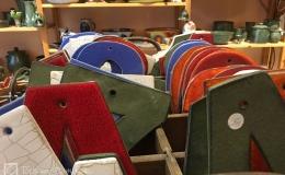 Die Tongrube: Keramikbuchstaben