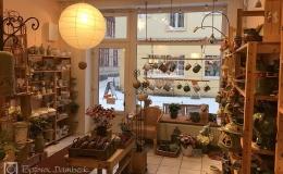 Die Tongrube: Keramikladen innen