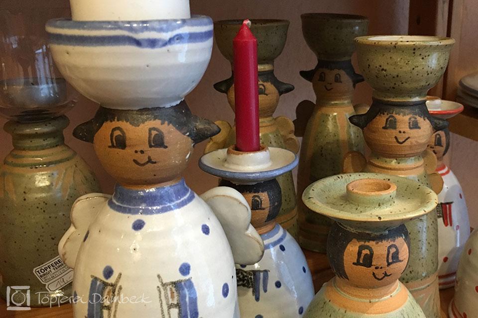 Die Tongrube: Keramik Birgit Teiner Kerzenstaender