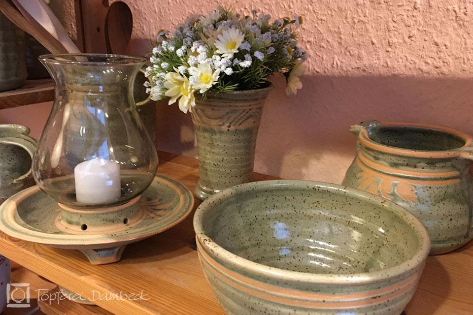 Die Tongrube: Keramik Birgit Teiner Windlicht