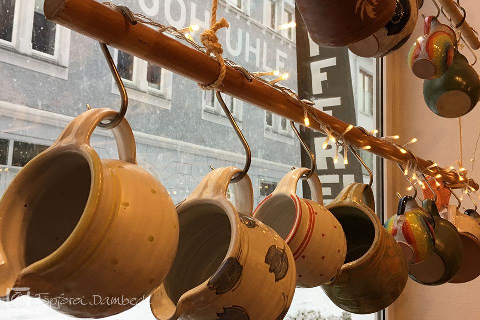 Die Tongrube: Keramikkruege